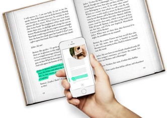Booke app brings functionality of ebooks to printed books