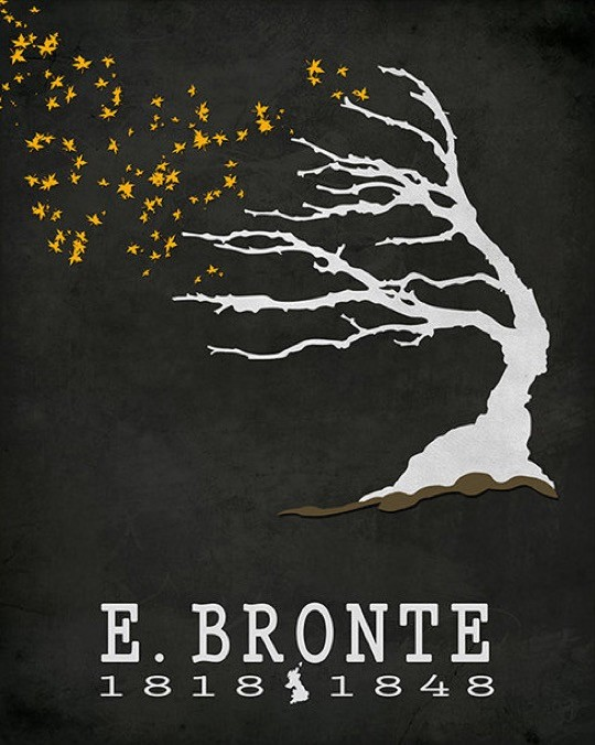 Literary posters from Creative Daffodils - Emily Bronte