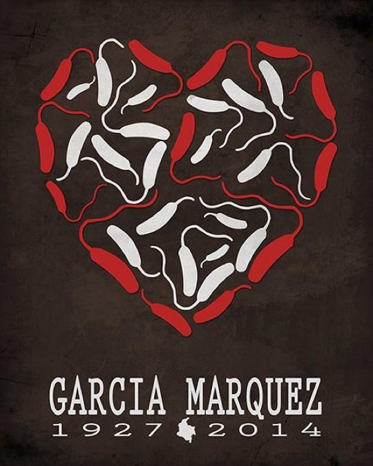 Literary posters from Creative Daffodils - Gabriel Garcia Marquez