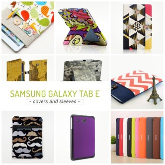 Samsung Galaxy Tab E case covers and sleeves