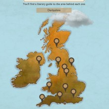 Travelzoo - interactive map to literary England