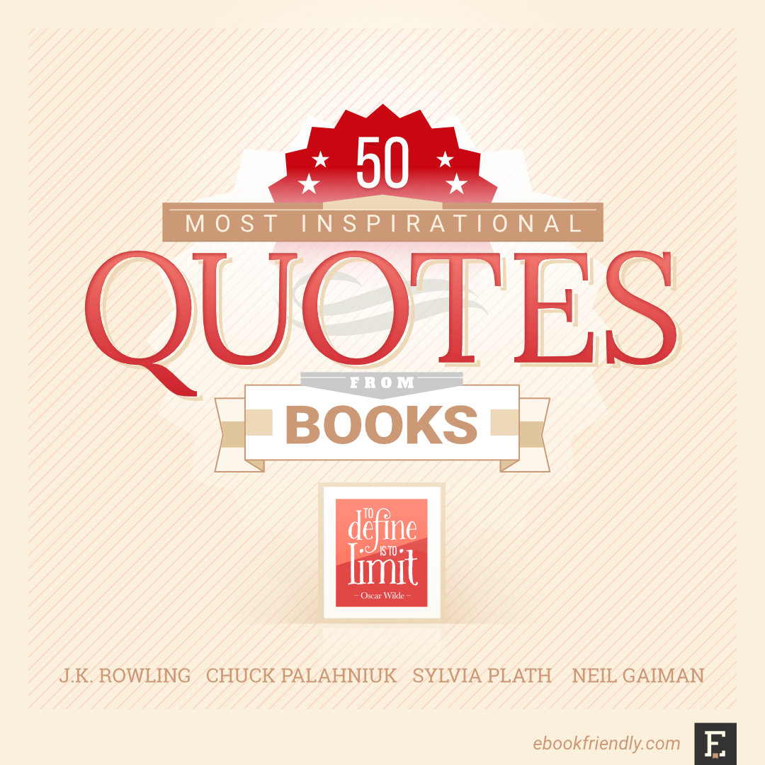 50 Most Inspirational Quotes From Books