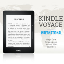 Kindle Voyage Interntional ships from Amazon US to over 150 countries