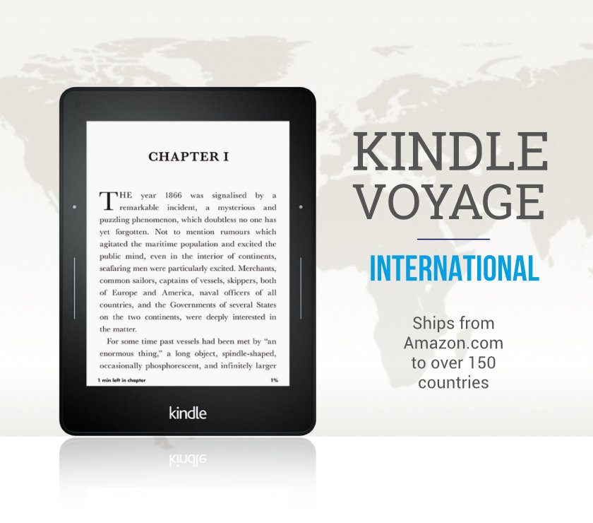 Kindle voyage ships internationally directly from amazon us fandeluxe Image collections