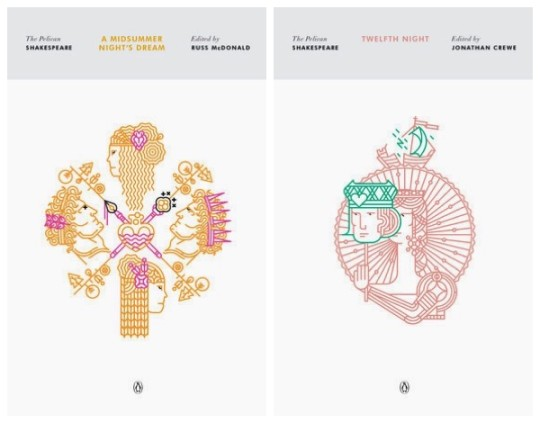 Pelican Shakespeare comedies - 2016 cover art