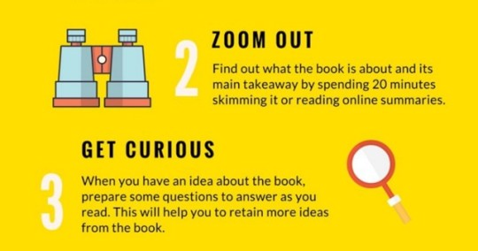 Seven steps to better reading - zoom out and get curious