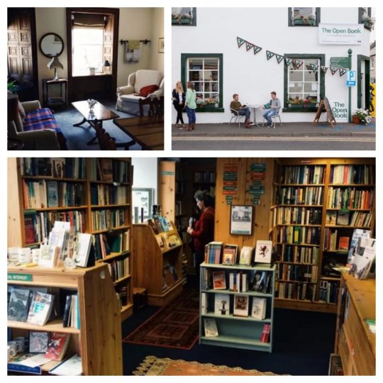 Wigtown - The Open Book apartment and bookshop in one