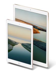 iPad Pro 9.7 and 12.9 / Image: Apple