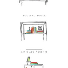 All the prettiest ways you can arrange your bookshelf