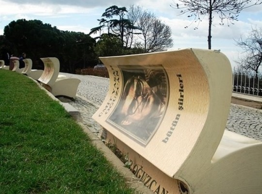 Book benches in Instanbul - picture 1