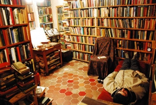 Inside Shakespeare and Company