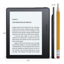 Kindle Oasis - dimensions