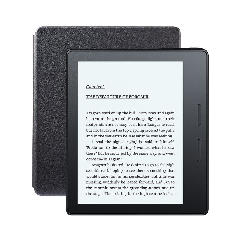 Kindle Oasis - front and back