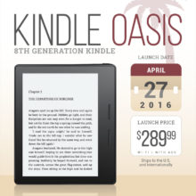 Kindle Oasis 2016: tech specs, comparisons, reviews, and more