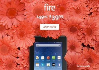 Mother's Day 2016 - Amazon Fire tablet is only $39.99