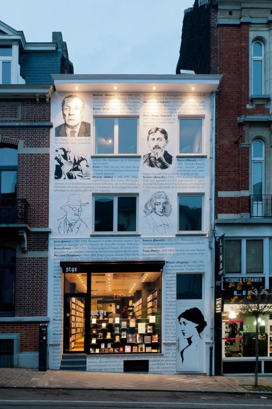 Ptyx Bookstore in Belgium