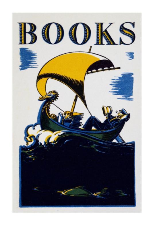 Retro book posters: Books 1930