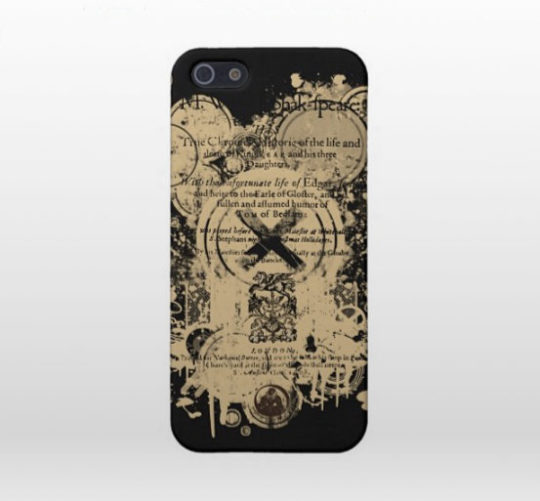 Shakespeare King Lear iPhone Case