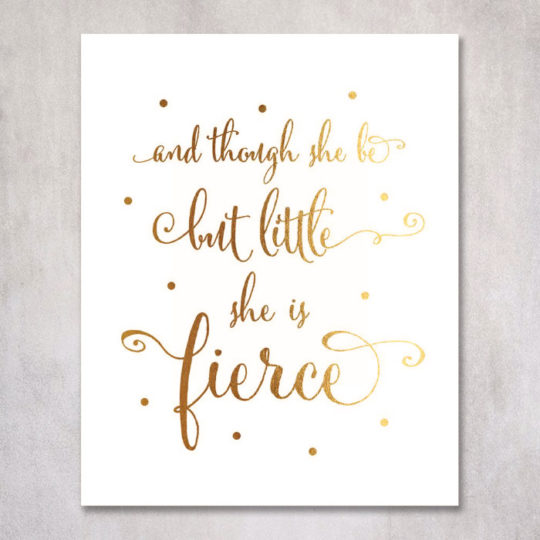 Shakespeare Quote Wall Art