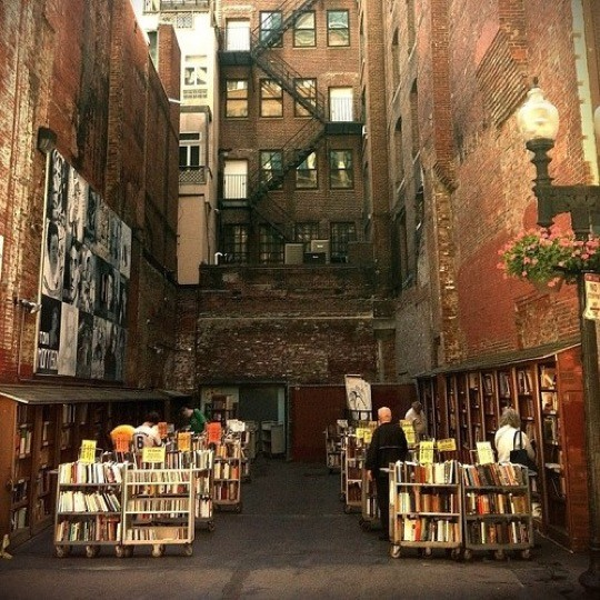 The Brattle Book Shop in Boston