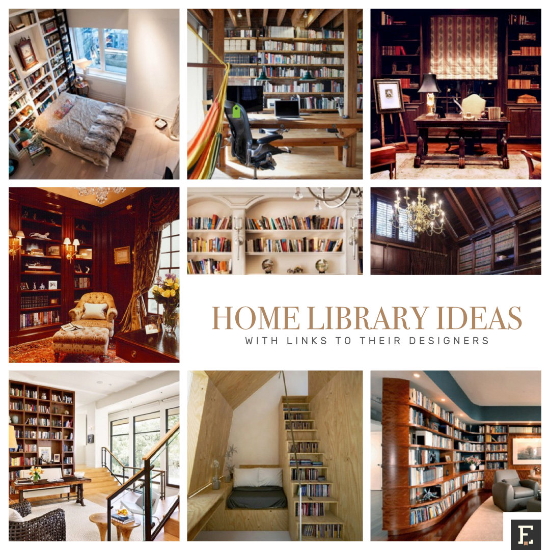 Top 50 Modern House Designs Ever Built: 20 Wonderful Home Library Ideas