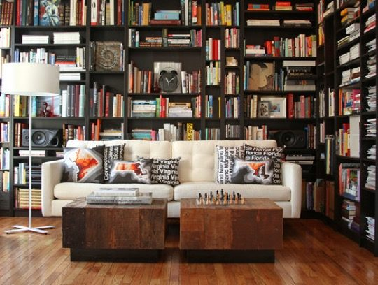 Contemporary Home Library 20 wonderful home library ideas
