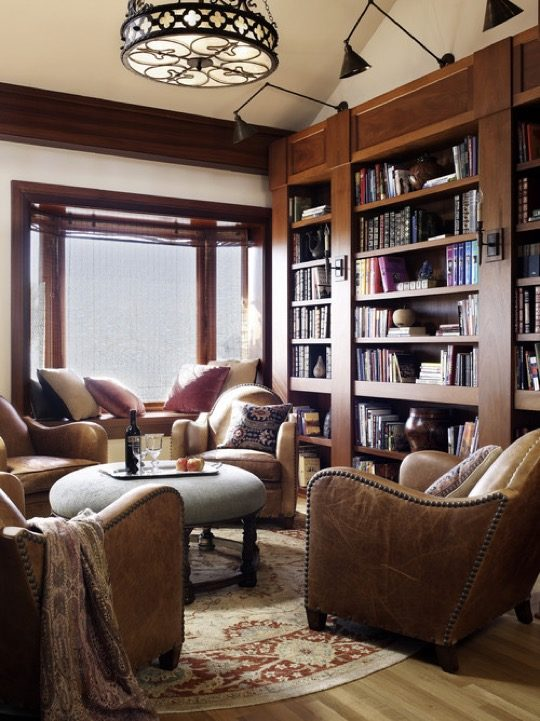Home Library Ideas   Historic Irving Gill