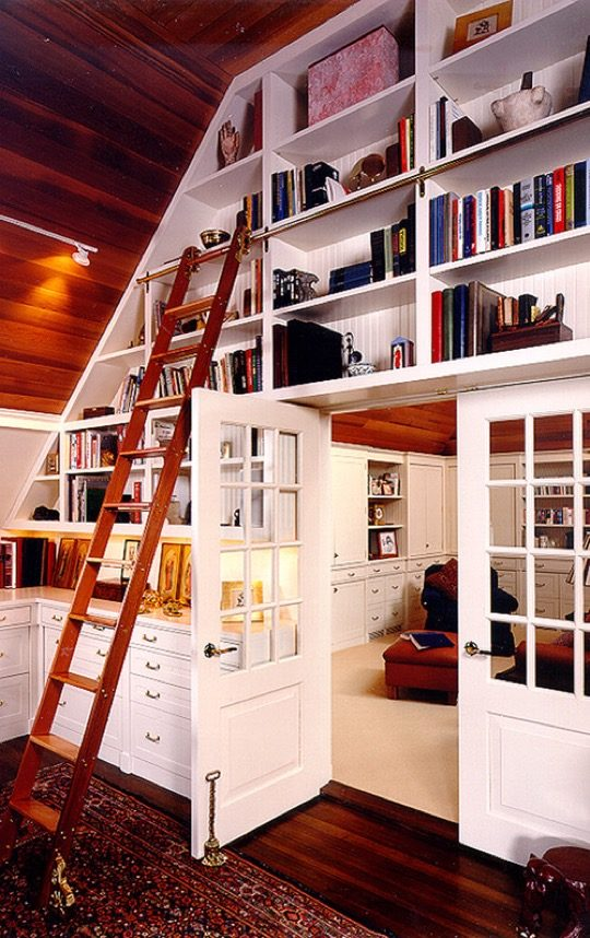 Home library ideas - Home office and study room