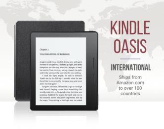 Kindle Oasis international version