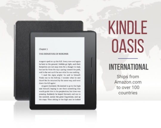 Kindle Oasis international version