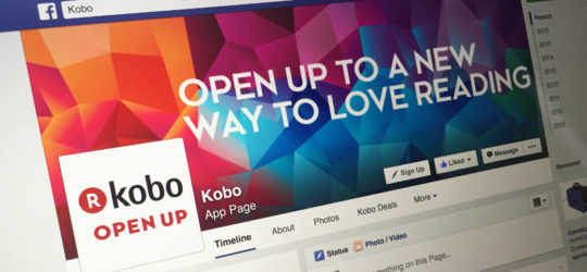 Kobo Facebook fan page