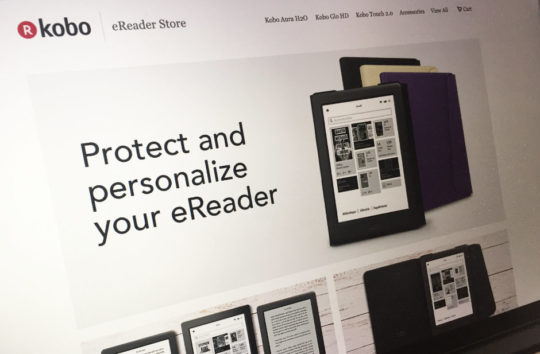 Kobo e-readers and original accessories