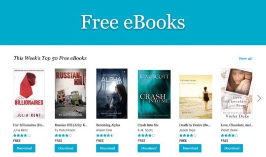 Kobo free ebooks