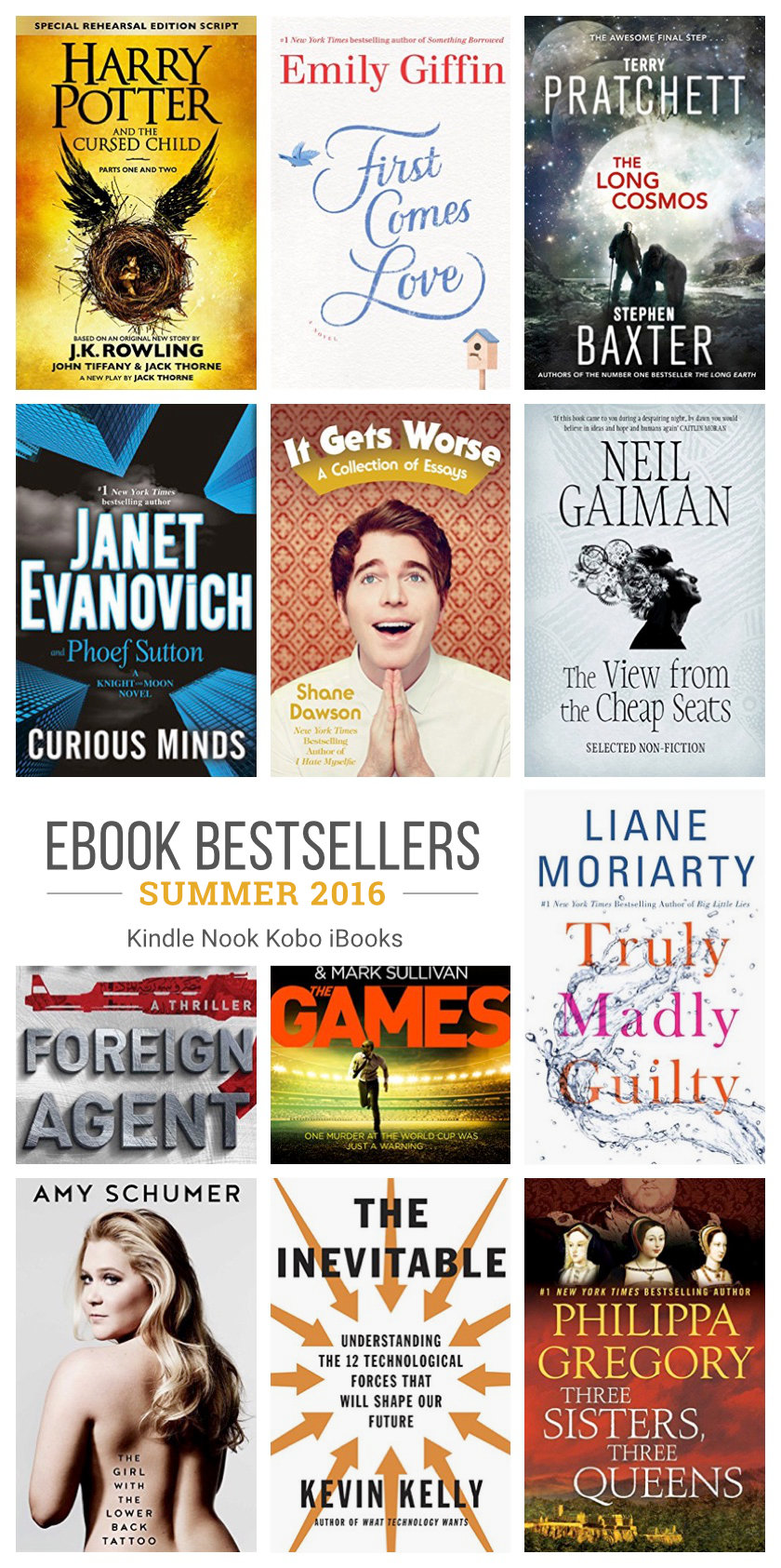 Must-read ebook bestsellers for your summer reading list 2016