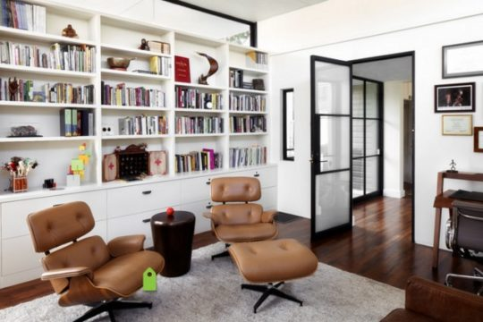 The Best 100+ Home Office Library Design Ideas Image Collections ...