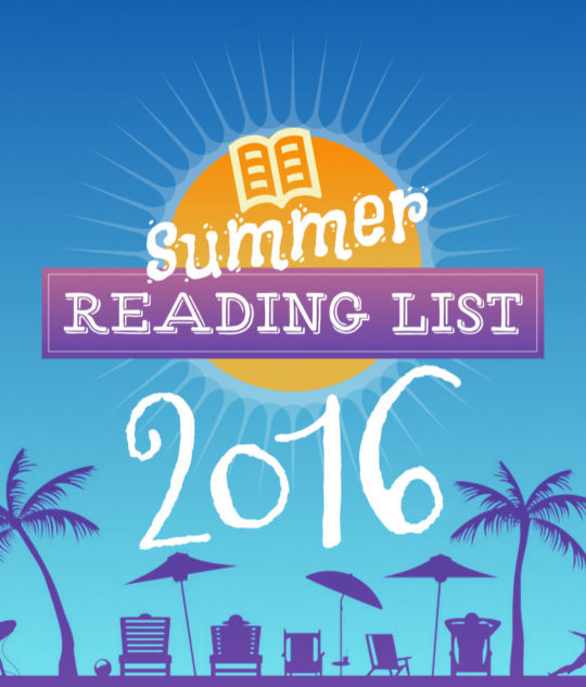 Summer reading list 2016 - picture
