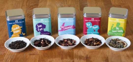 The Literary Tea Collection by First Edition Tea Co
