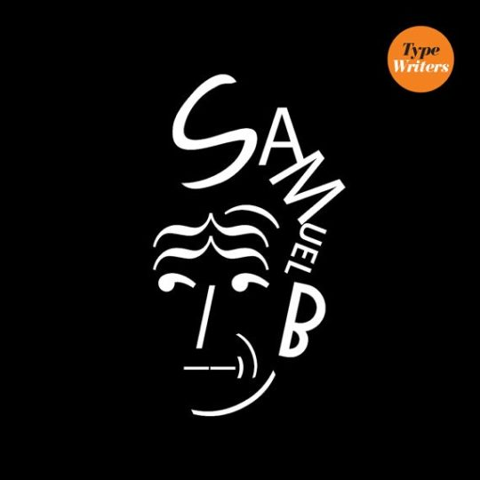 Typographic posters of famous authors - Samuel Beckett