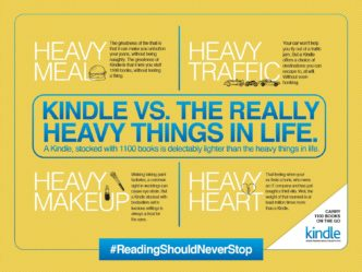 What is heavier - #Kindle or life
