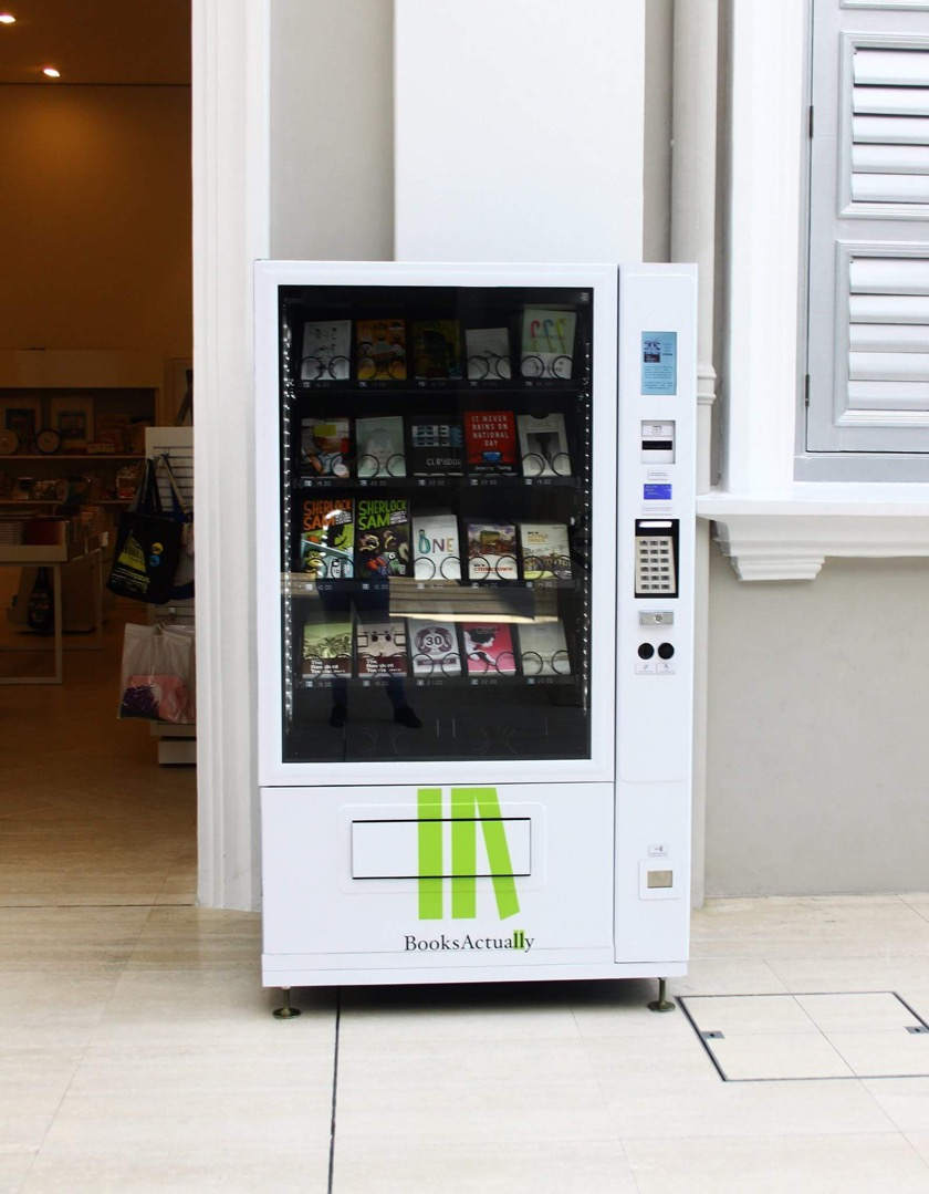 Book vending machines in Singapore - picture 1