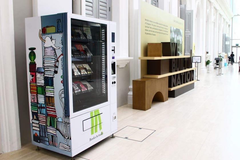 Book vending machines in Singapore - picture 2