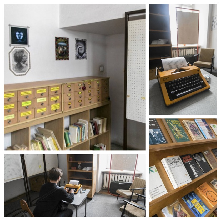 Escape room set in Cracow public library
