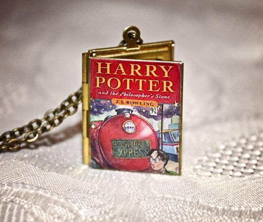 Harry Potter Book Locket