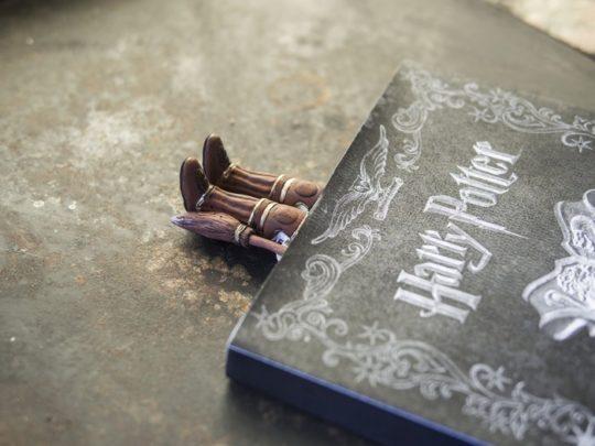 Harry Potter Bookmark in Quidditch Uniform
