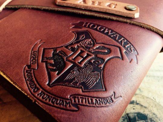 Harry Potter Hogwarts Leather Journal