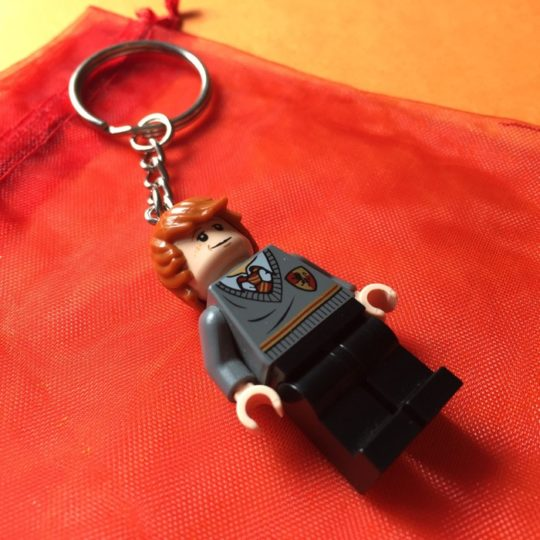 Harry Potter Lego Ron Weasley Keychain