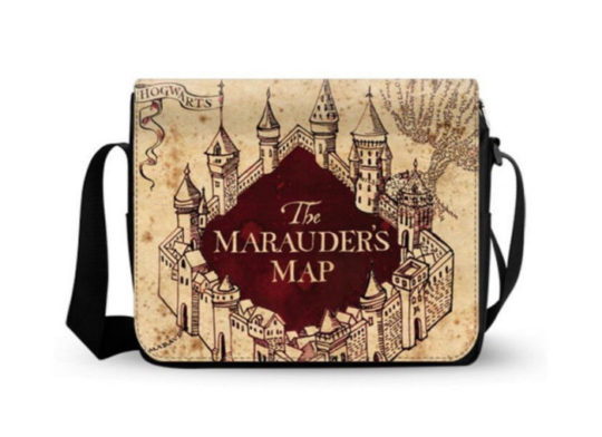 Harry Potter Marauder's Map Messenger Bag