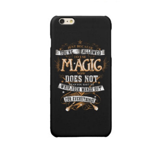 Harry Potter Quote iPhone Case