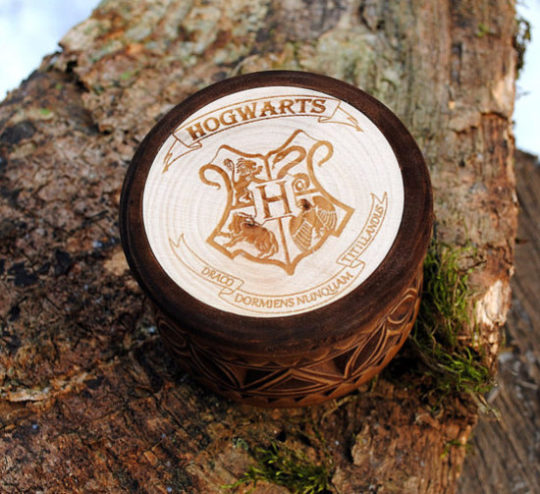 Harry Potter Wooden Jewelry Box