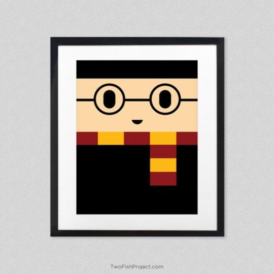 Minimalist Harry Potter poster - Harry Potter